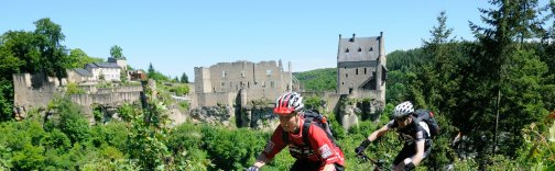 Mountainbiking in Larochette Luxembourg